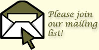 Please join our mailing list